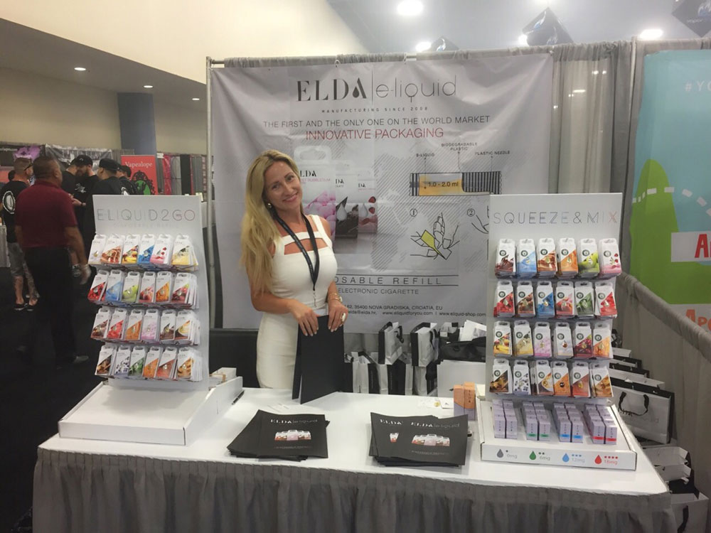 Elda Ltd. presented new products at the World Vapor Expo 2015 in Miami