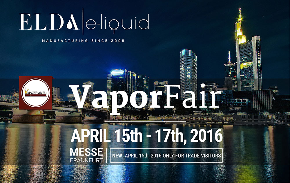 ELDA at Vapour Fair Frankfurt