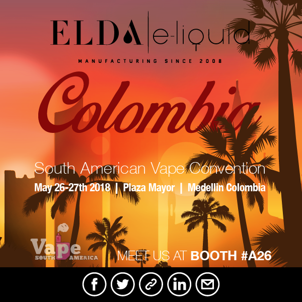 Come and meet Elda team at South American Vape Convention!