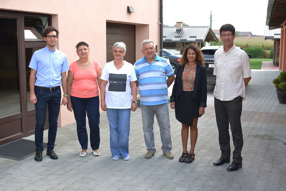Delegation of University Sorbonne from Paris in visiting ELDA