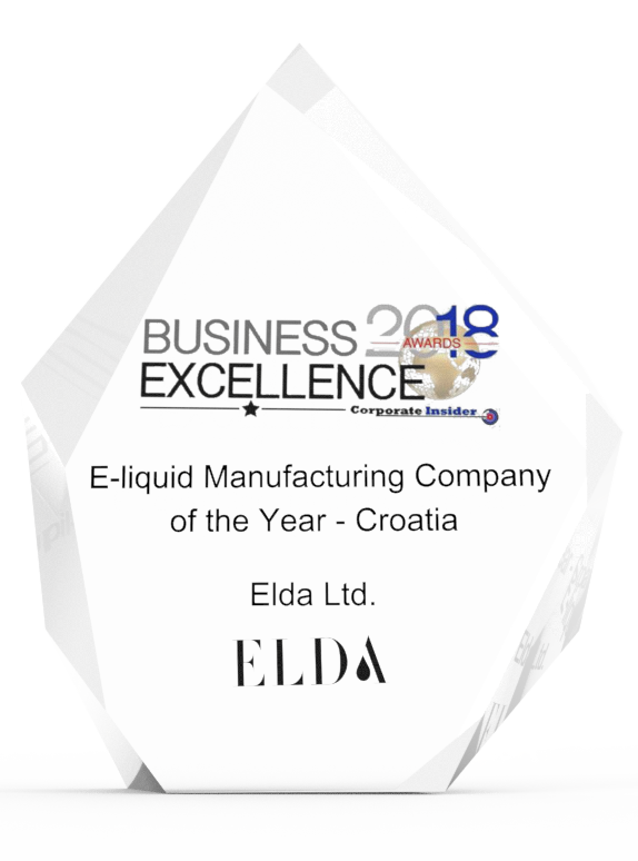 E-liquid manufacturing company of the year - Croatia