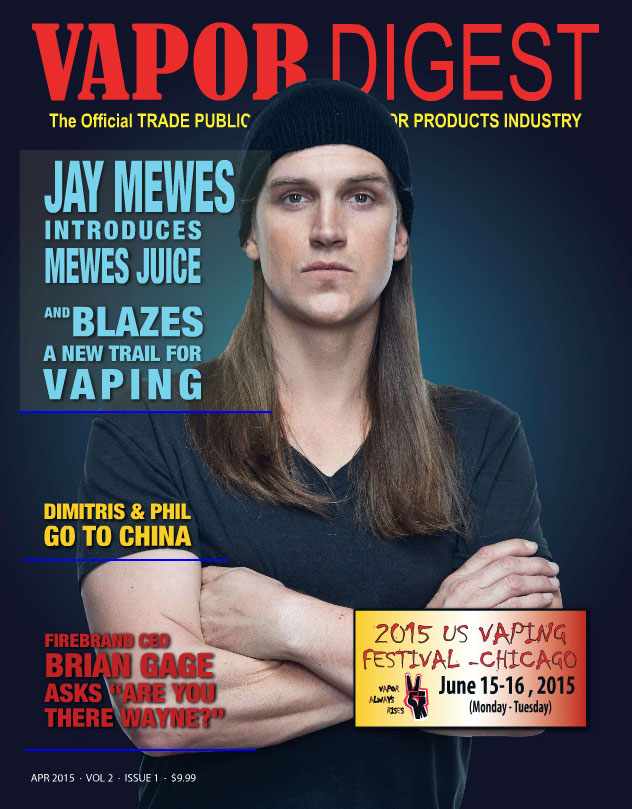 ELDA again among elite E-Liquid manufactureres in Vapor Digest Magazine