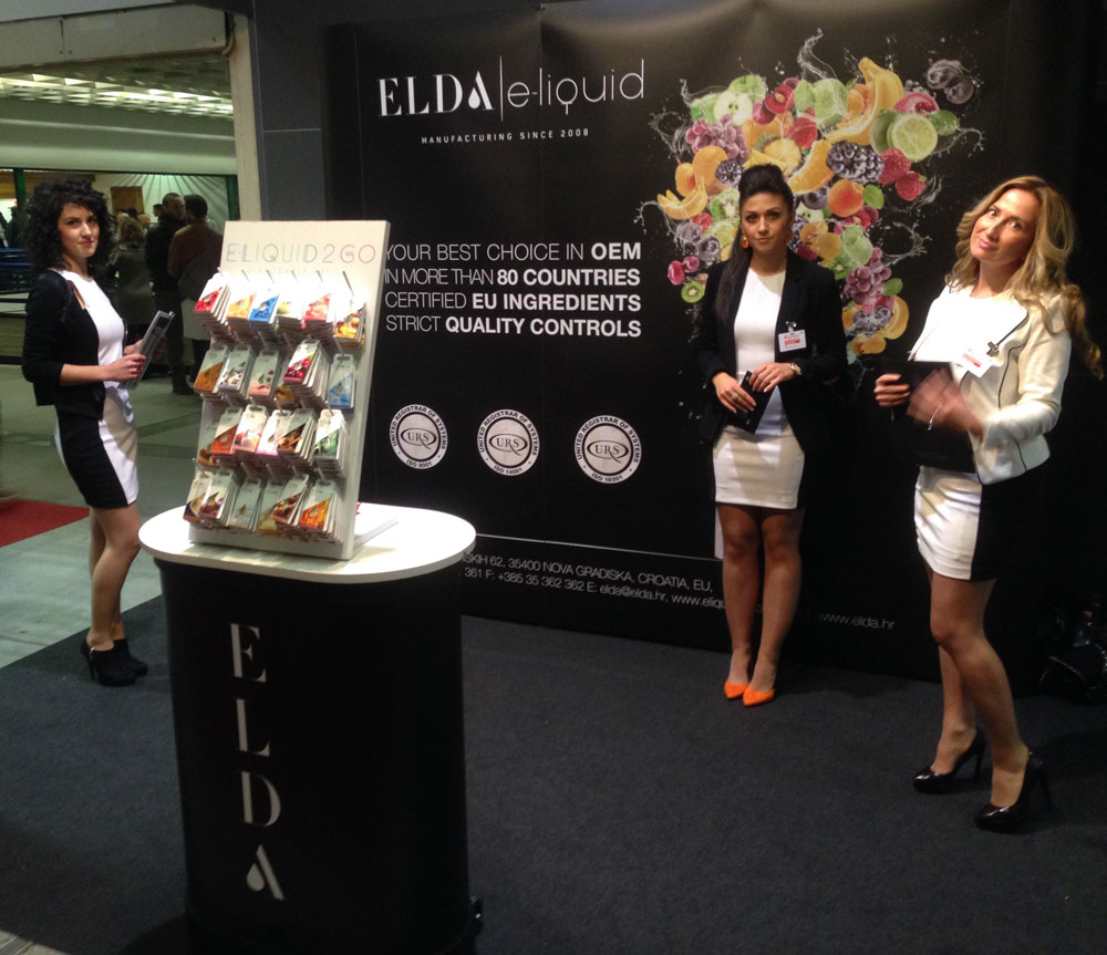ELDA at first International Vaping Exibition VapItaly, Verona