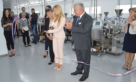 CROMA Manager of the year opened a new factory