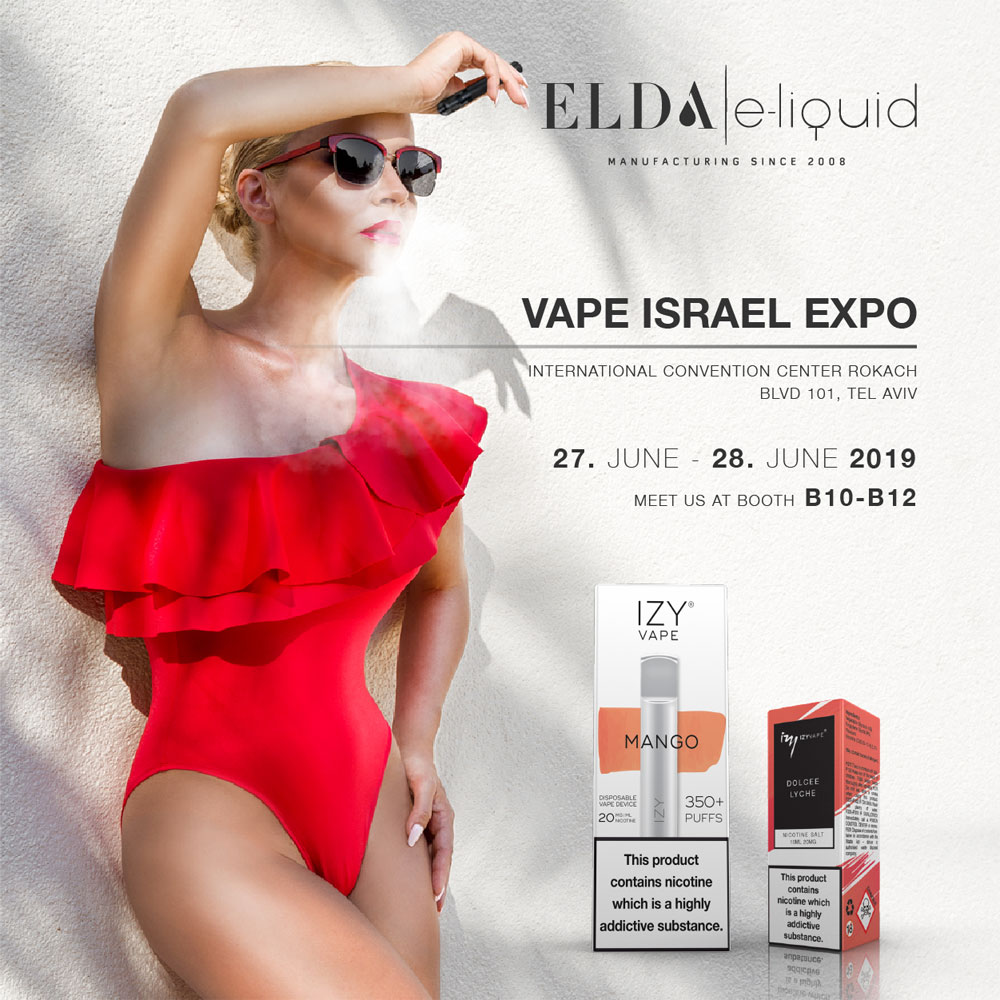 Visit us at Vape Israel Expo