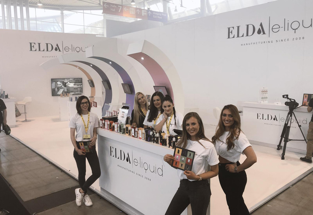 Elda at the exhibitions video