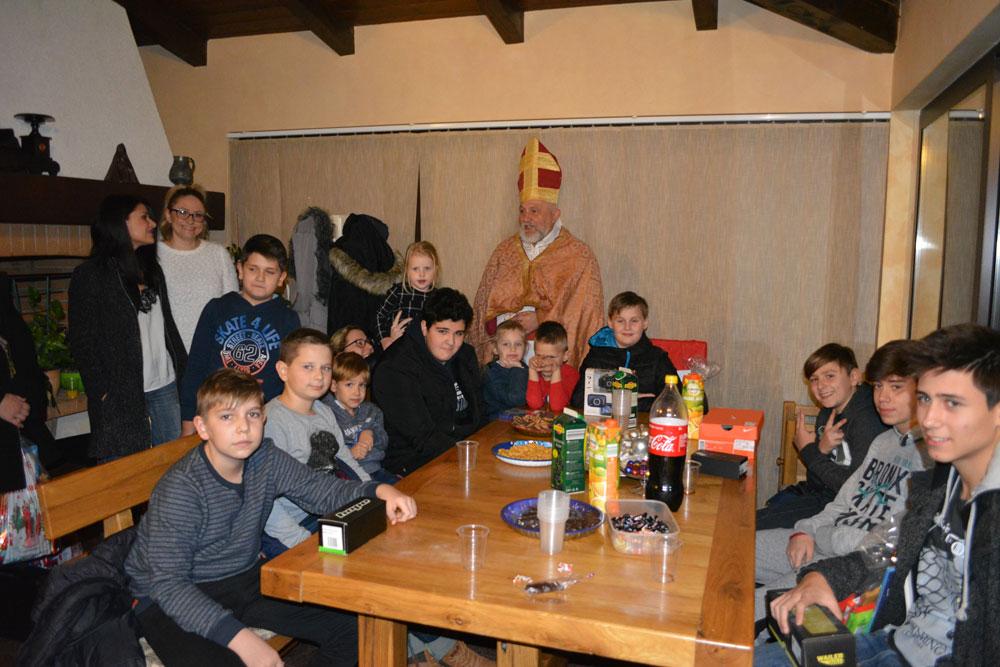 Saint Nicholas visited company ELDA LTD.