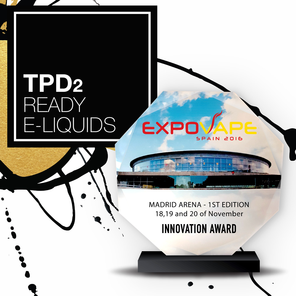 ELDA is awarded at EXPOVAPE Madrid for the best innovation in the whole vape industry