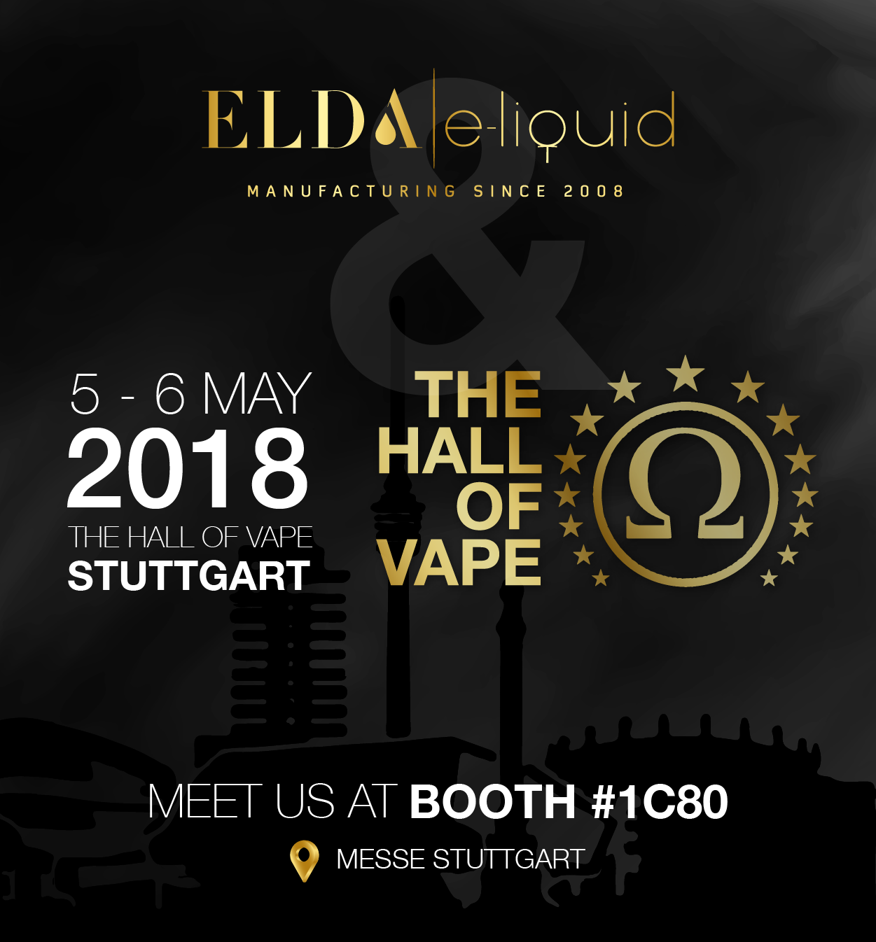 Meet Elda team at The Hall of Vape