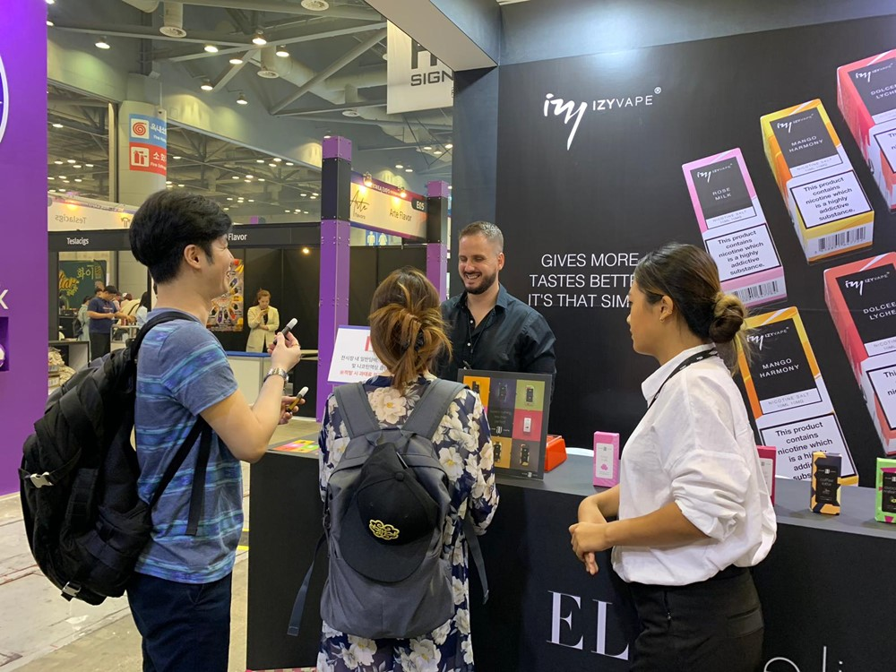 Elda at Vape Korea Expo