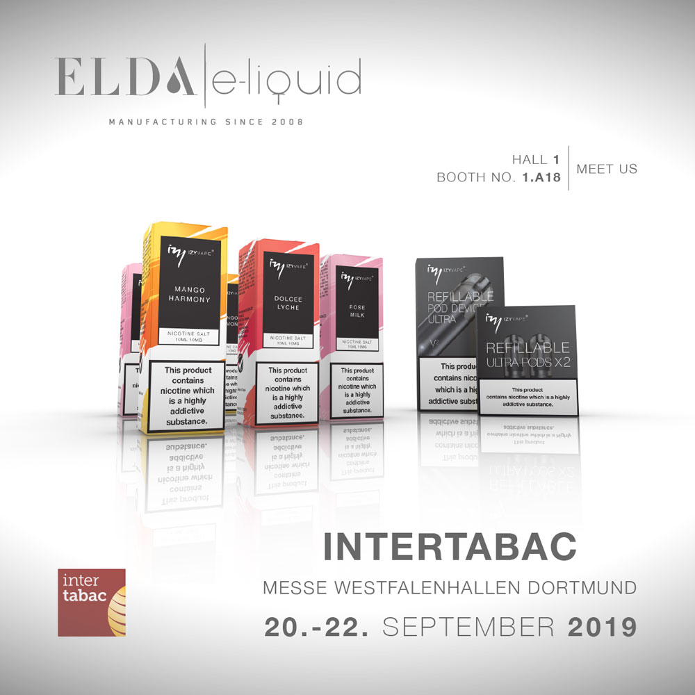 Visit Elda at Intertabac in Dortmund