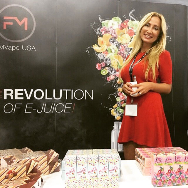 FM Vape & Elda at World Vapor Expo in Miami