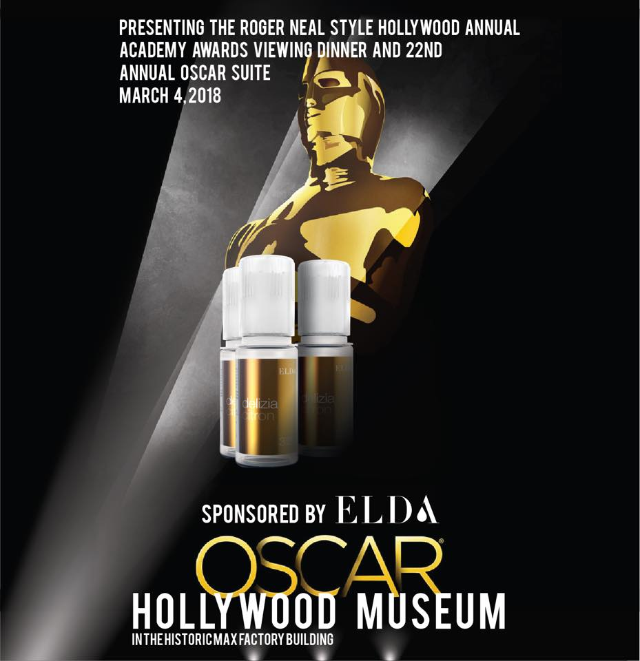 Elda was a part of the spectacular Oscar evening
