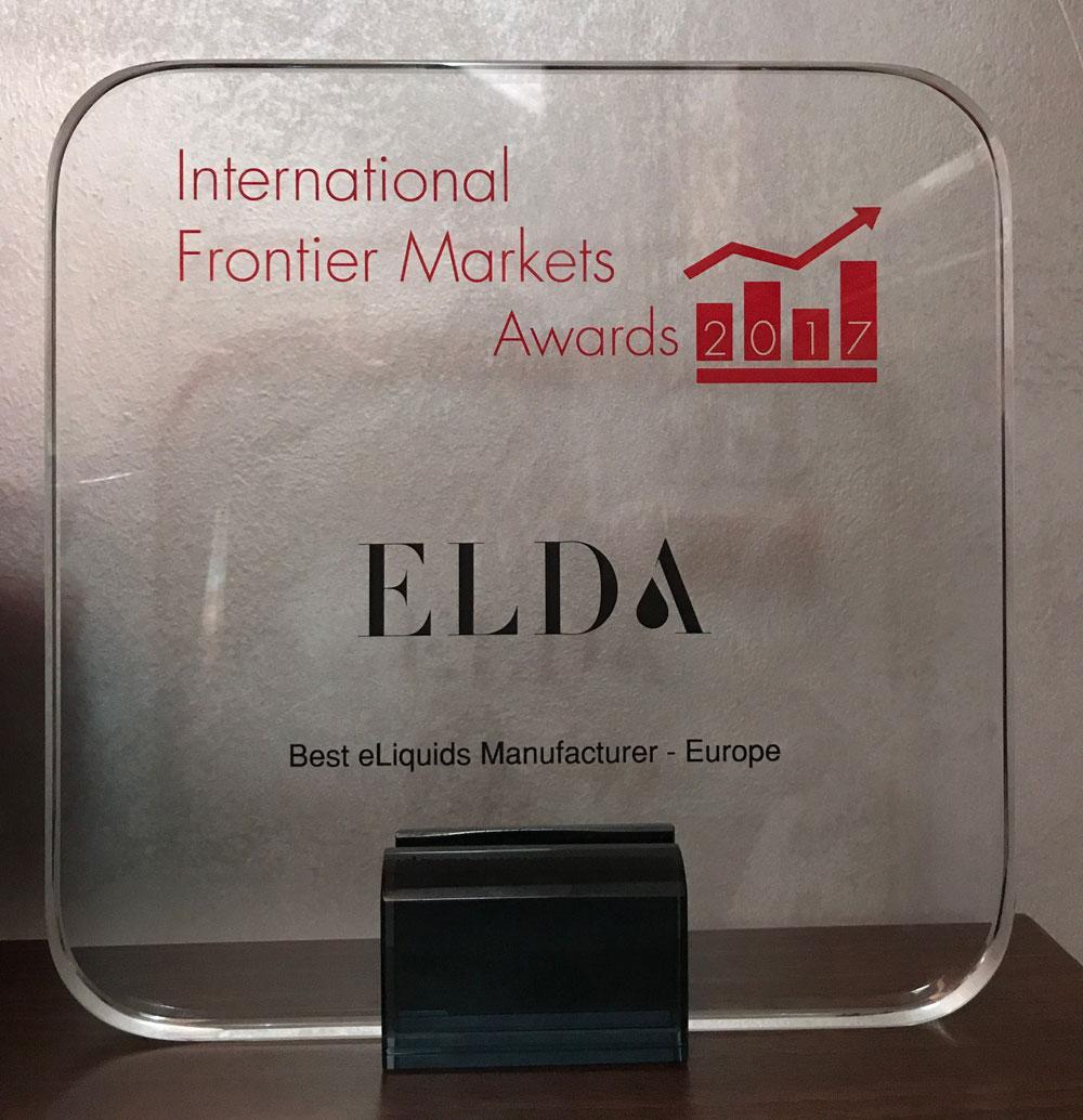 Najbolji europski proizvođač e-tekućina je tvrtka Elda!