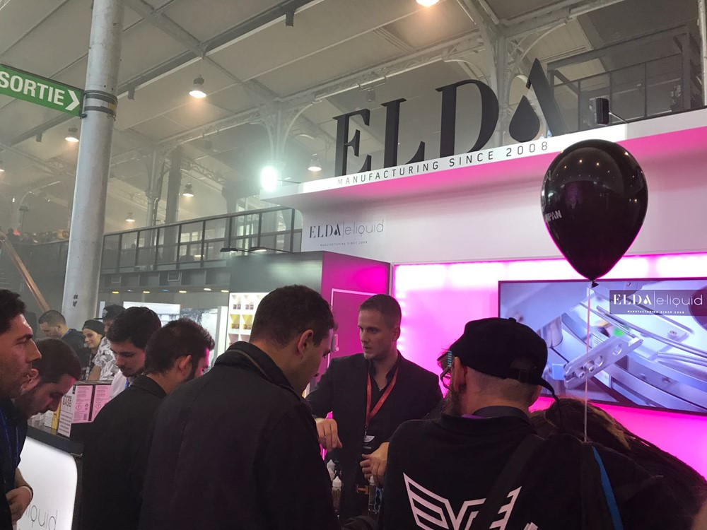 ELDA at VAPEXPO 2017. Paris