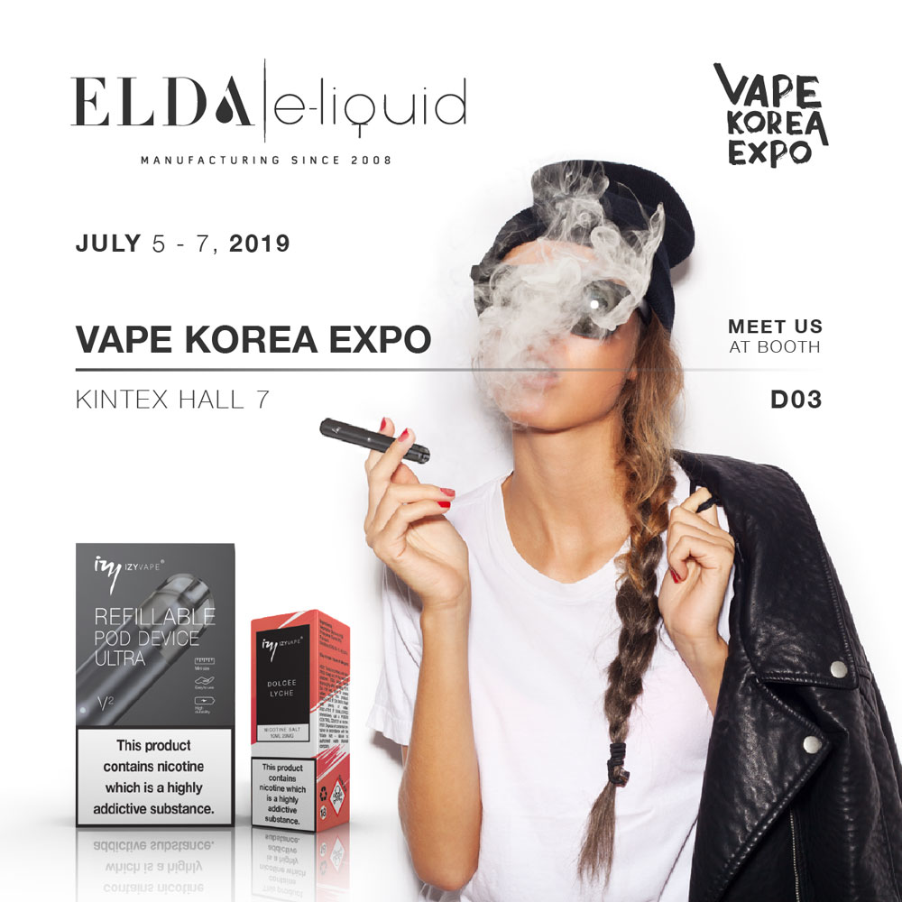 Visit us at Vape Korea Expo