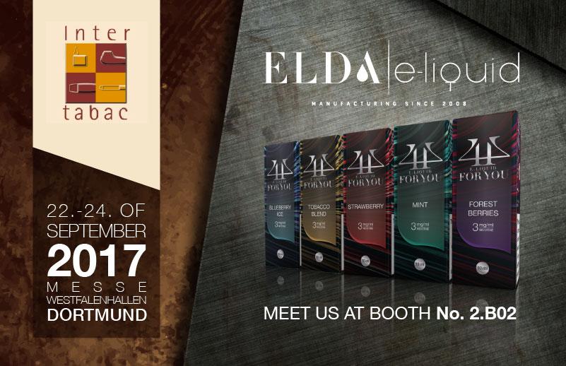 Dođite i upoznajte Elda tim na InterTabac-u, Dortmund