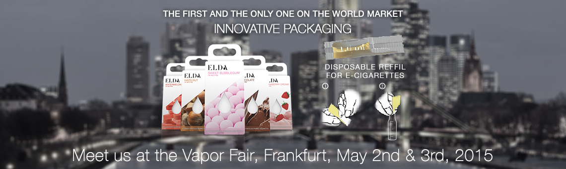 Vapor Fair, Frankfurt May 2nd & 3rd, 2015