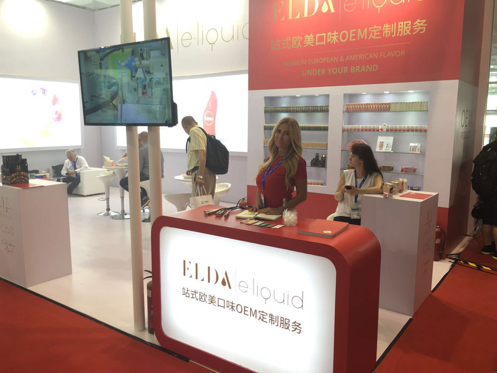 ELDA at Beijing VAPE CHINA EXPO 1st day