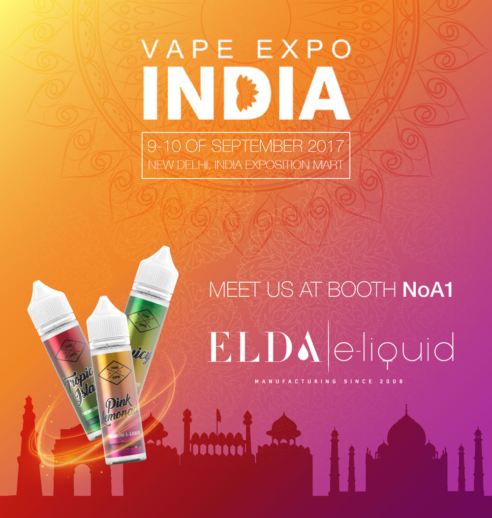 Meet us at India Vape Expo!!!