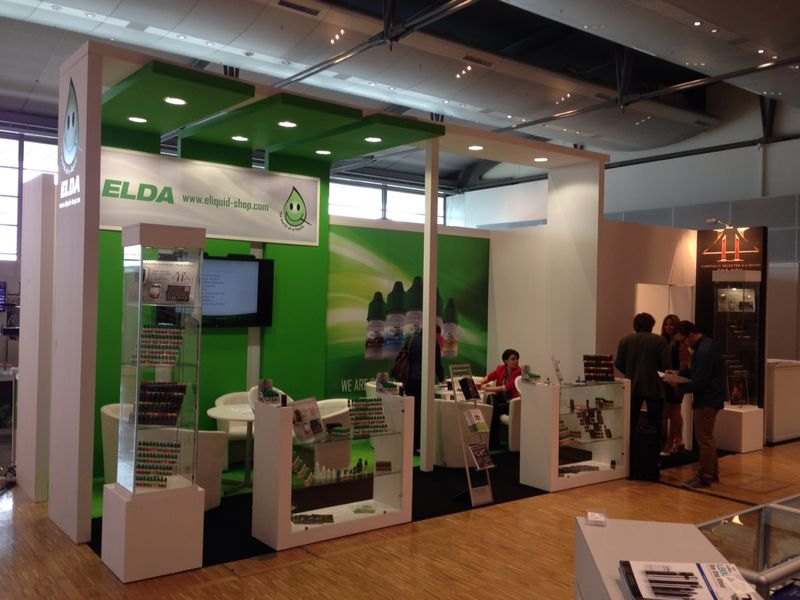 Elda Ltd. is exhibited at biggest European Vapor Fair in Frankfurt