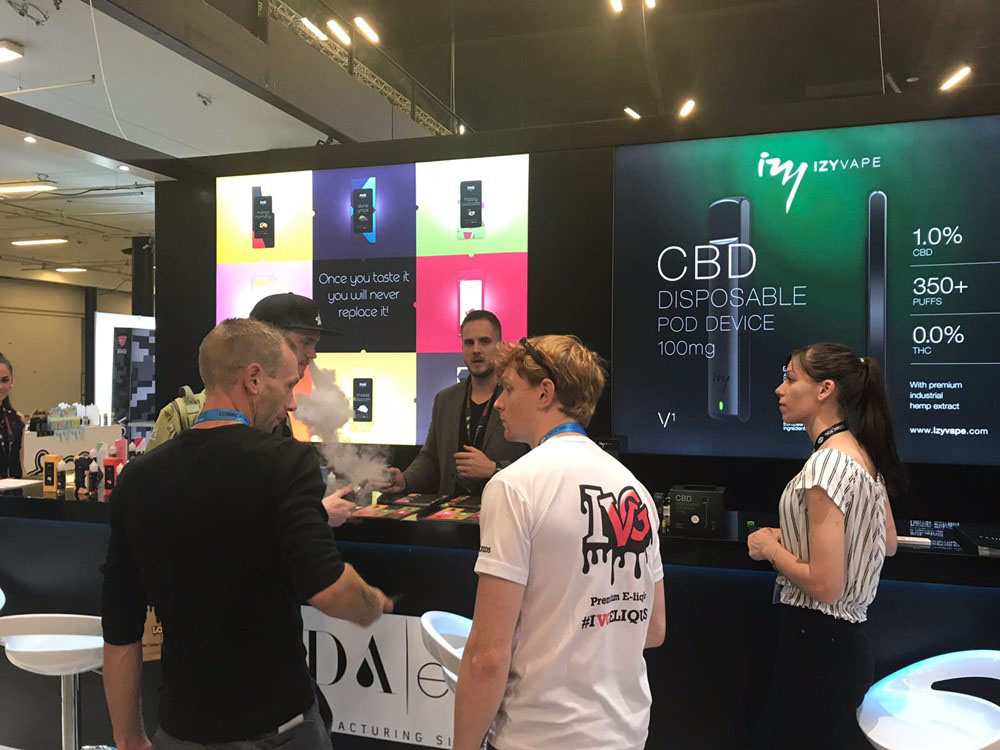Elda at Vape Scandinavia Expo
