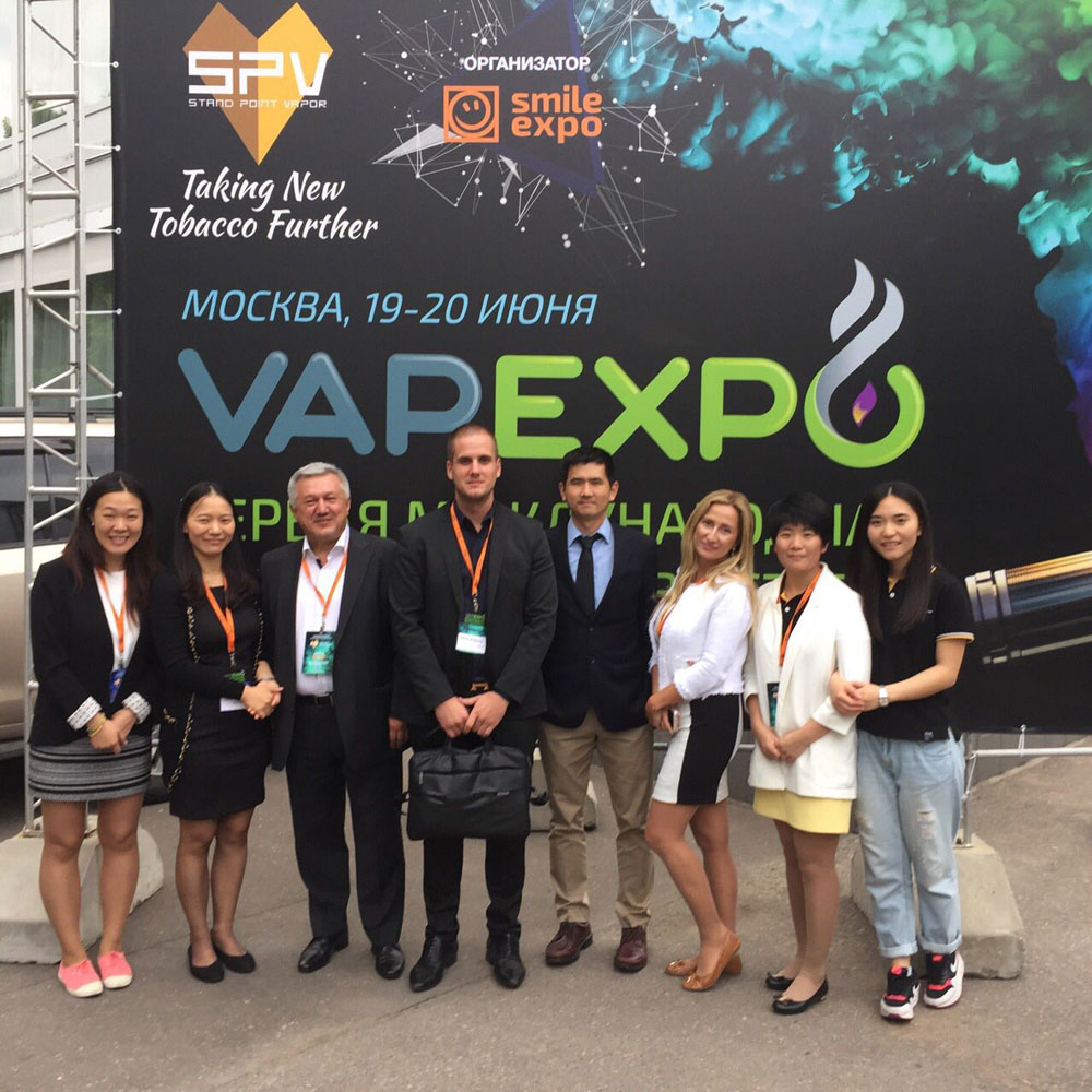 Elda Ltd. at the VAPEXPO in Moscow