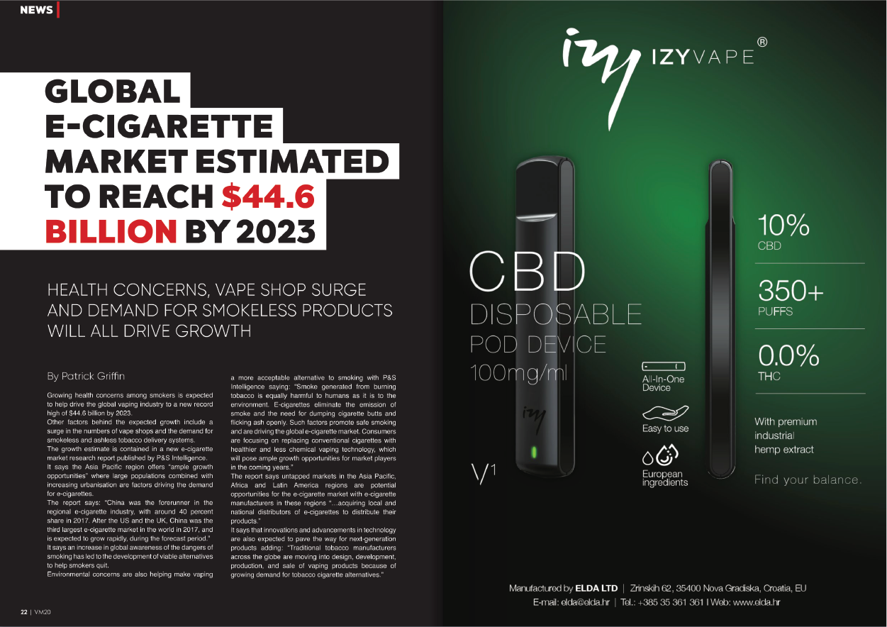 Stay healthy with Izy Vape!