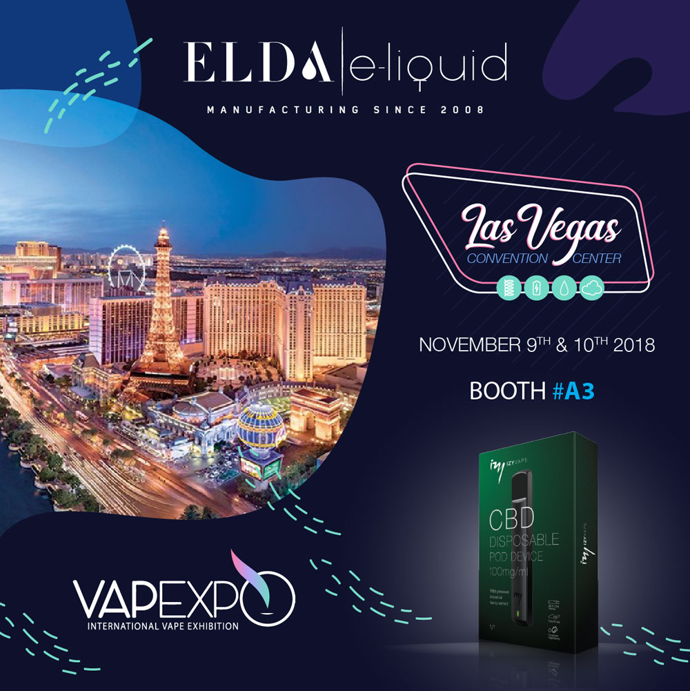 Come and visit us at Vapexpo in Las Vegas