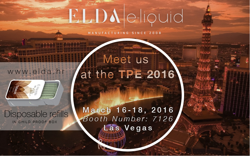 Meet ELDA at TPE 2016, Las Vegas