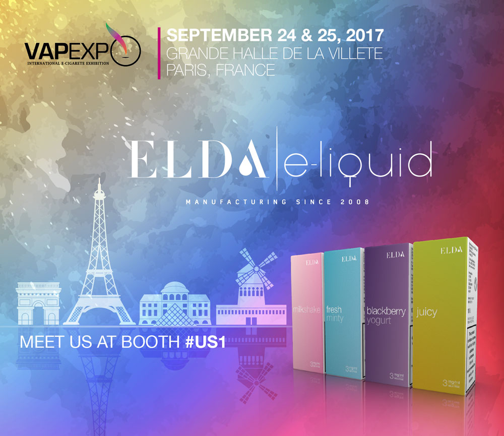 Come and meet us at VAPEXPO, Paris