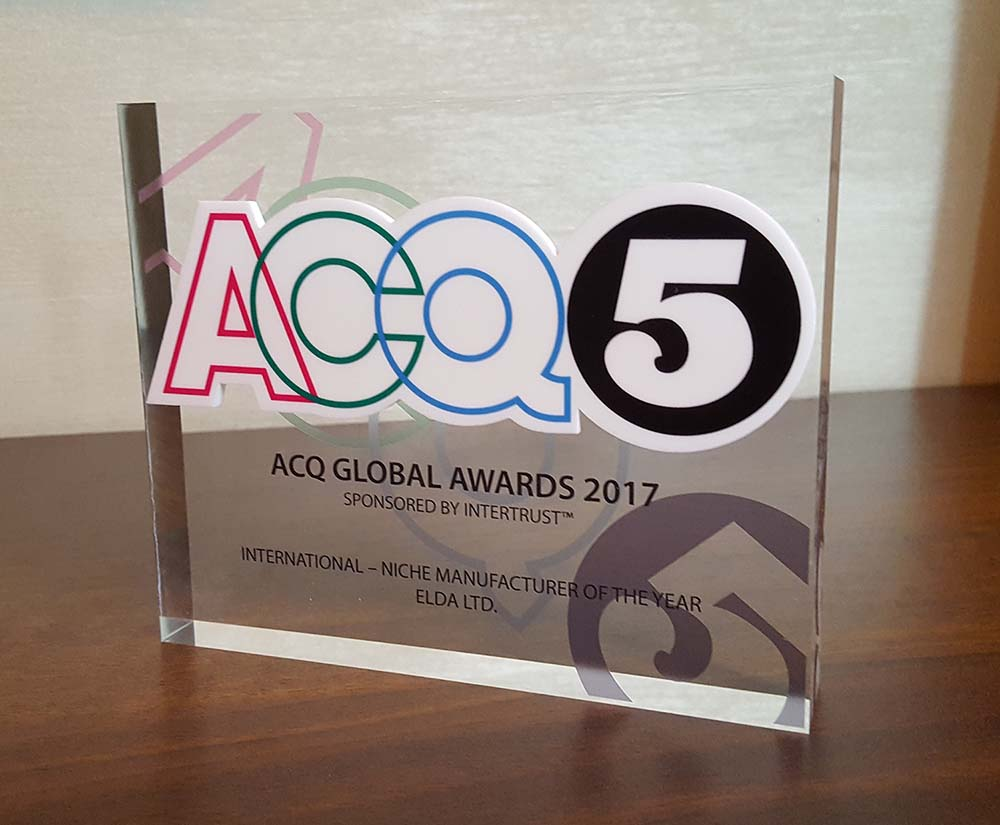ACQ5 Global Awards 2017 – new achievements of company Elda