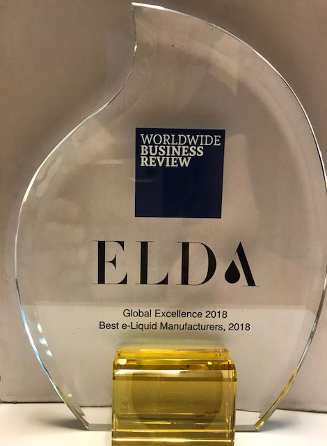 ELDA - best European E-Liquid Manufacturer in 2018.