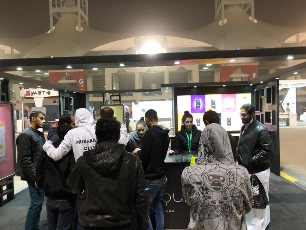 ELDA at Middle East Vape Show