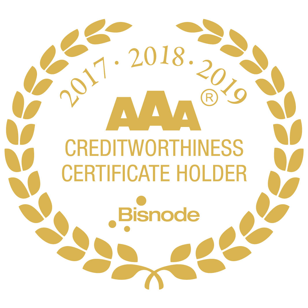 Elda receives another AAA certificate of excellence