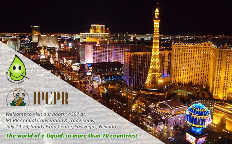 Meet us at IPCPR Annual Convention & Trade Show, July 19-23, Las Vegas, Nevada