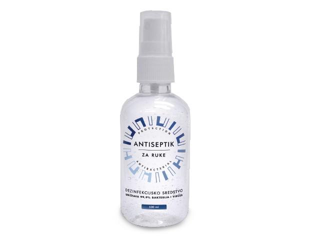 Antiseptik za dezinfekciju ruku sprej 100ml